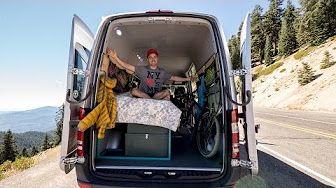 7f9cf095b607ad How to convert a Van in to an Off-Grid Camper in 17 Days! - YouTube ...