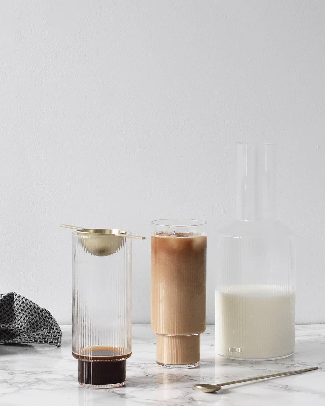Ripple Long Glass Set Glass Set Easy Summer Drinks Glass
