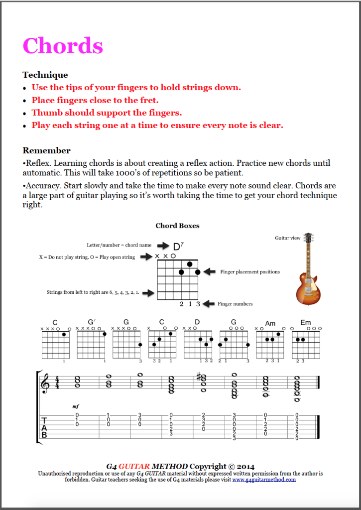 Chords | Guitar | Pinterest | Content and Guitars