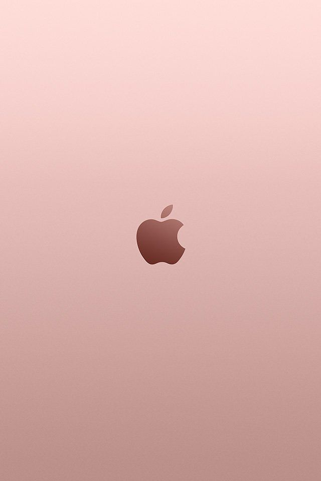 Iphone Wallpaper Au11 Apple Pink Rose Gold Minimal Illustration Art Abstract Iphone Wallpaper Apple Logo Wallpaper Apple Watch Wallpaper