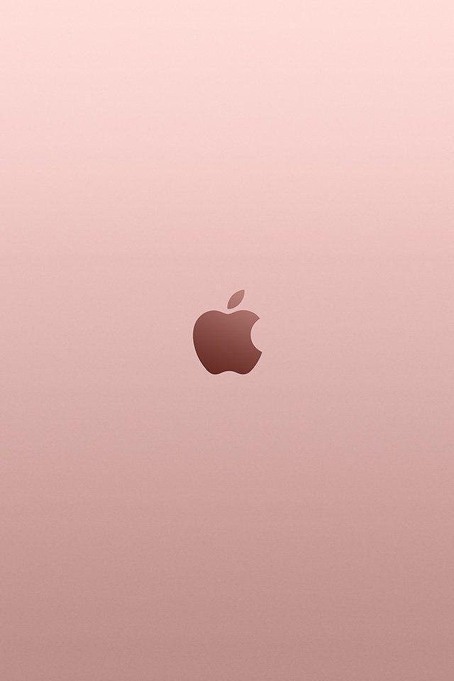 Iphone Wallpaper Au11 Apple Pink Rose Gold Minimal Illustration Art Abstract Iphone Wallpaper Apple Logo Wallpaper Apple Watch Wallpaper