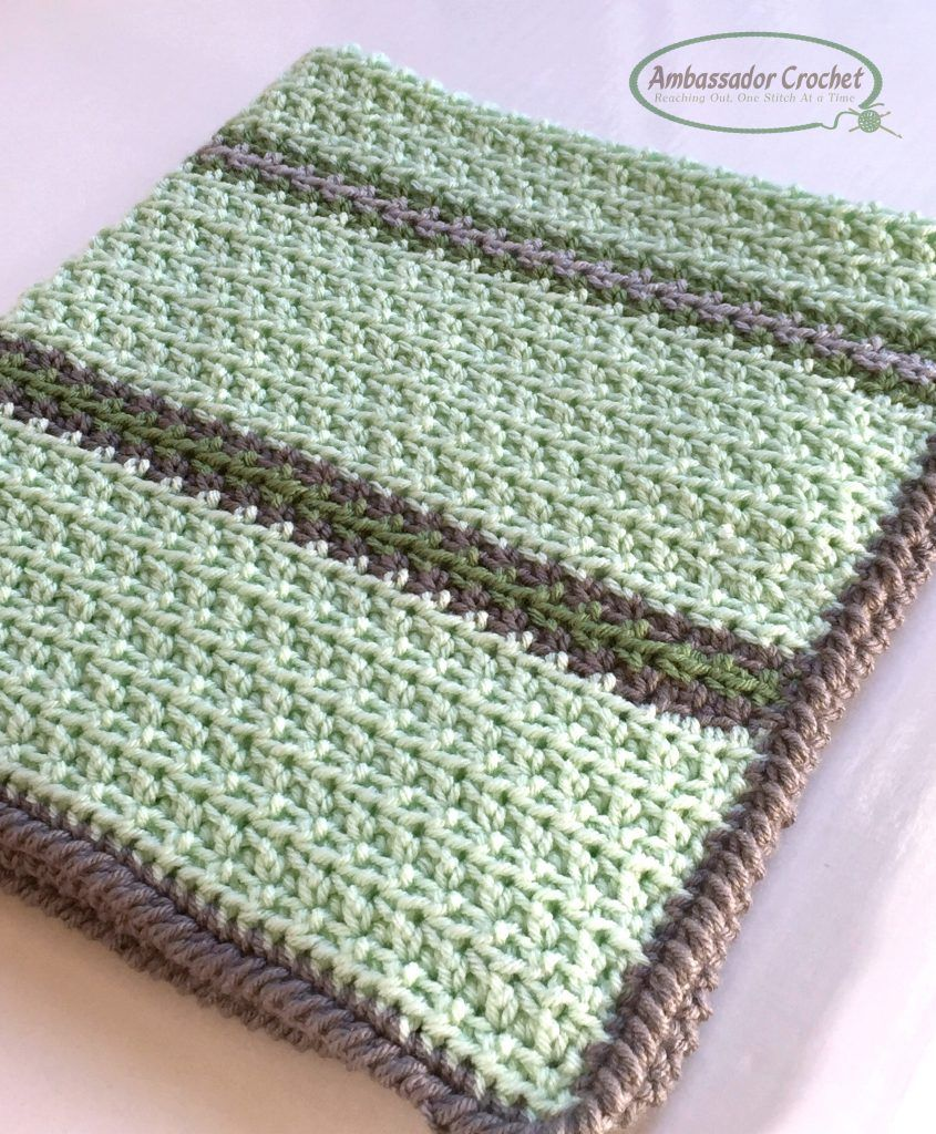 Soft & Squishy Baby Blanket - Free Crochet pattern by Ambassador ...