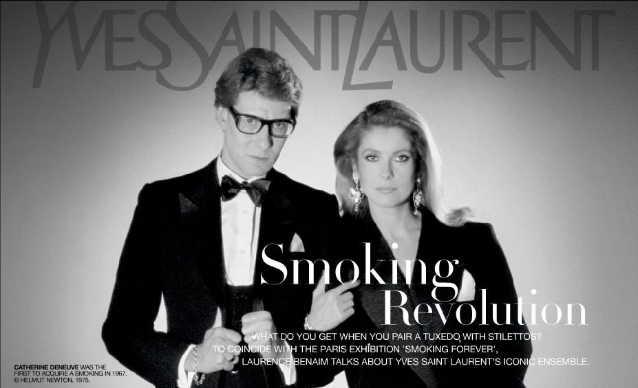 Yves Saint Laurent by Marie Sakr on Prezi | CATHERINE DENEUVE ...