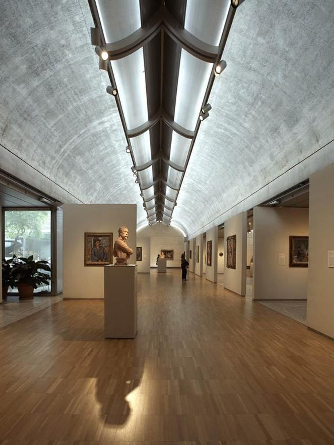 Louis Kahn Kimbell Art Museum Sda Pillole Di Luce