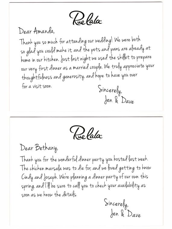 Tips For Handwritten Thank You Notes Wedding Thank You Wording Thank You Note Template Thank You Letter Examples