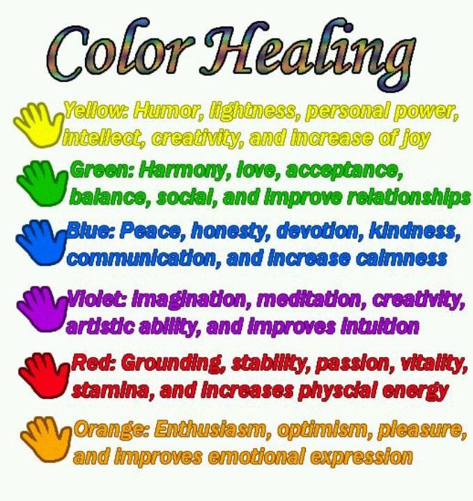 Color Healing Balancedwomensblog Com Color Healing Healing Energy Healing