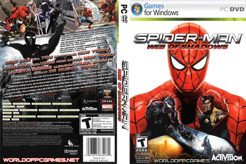 Pin By Medo Omda On Full Version Games Spiderman Pc Games Setup Activision