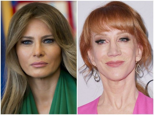 Melania Trump Rips Kathy Griffin: Beheading Photo 'Makes You Wonder About Mental Health'
