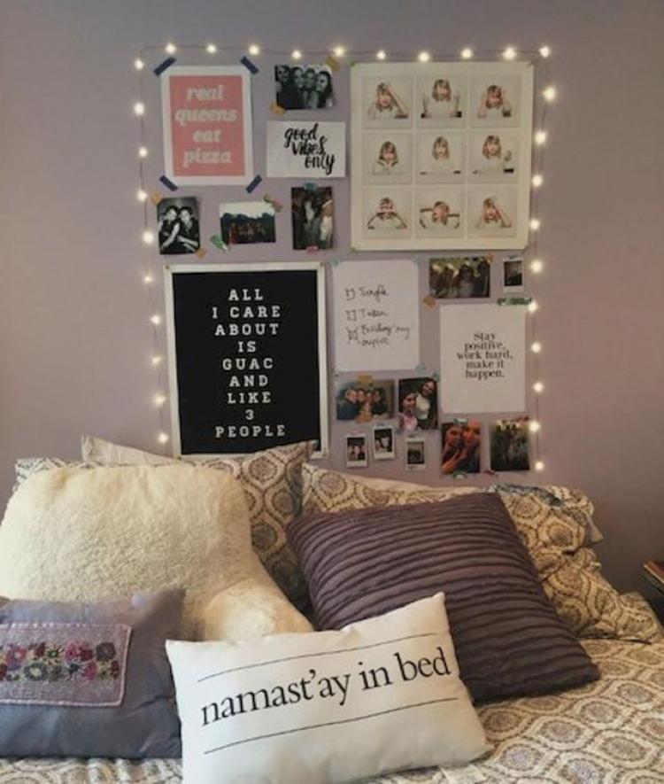 80 Beautiful Cute Diy Dorm Room Decoration Ideas Dorm Room Diy Cute Dorm Rooms College Bedroom Decor