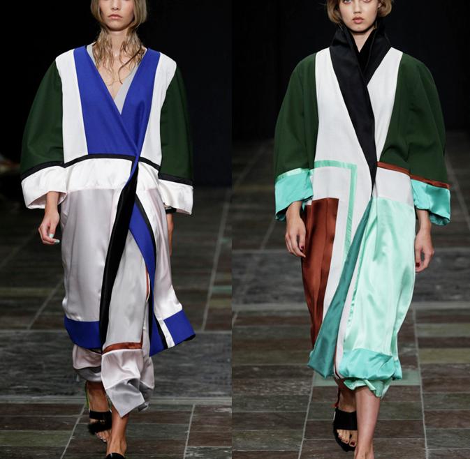 kimono in panels