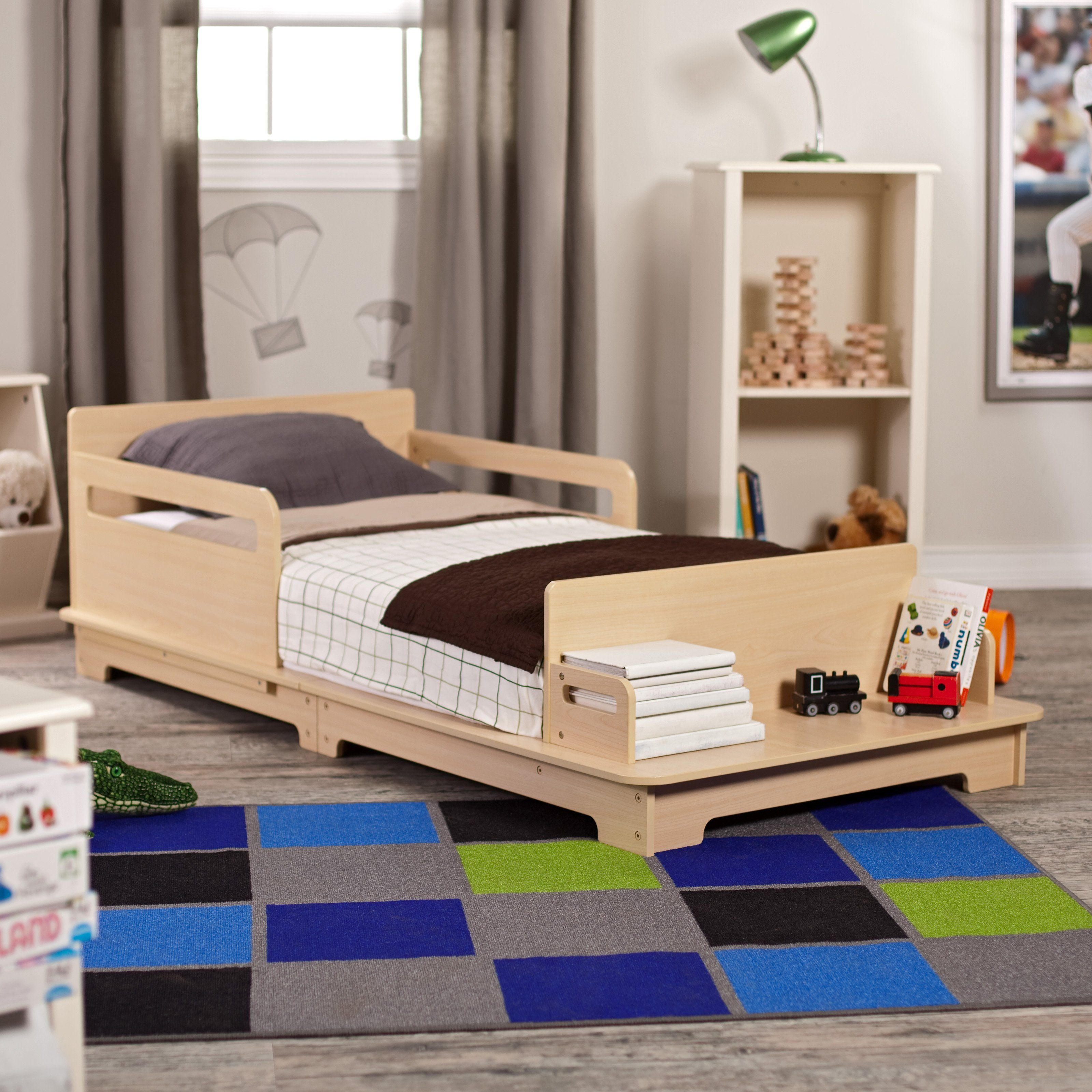 Kidkraft Modern Toddler Bed Www Hayneedle Com Cool Toddler Beds Toddler Bed Set Modern Toddler Bed