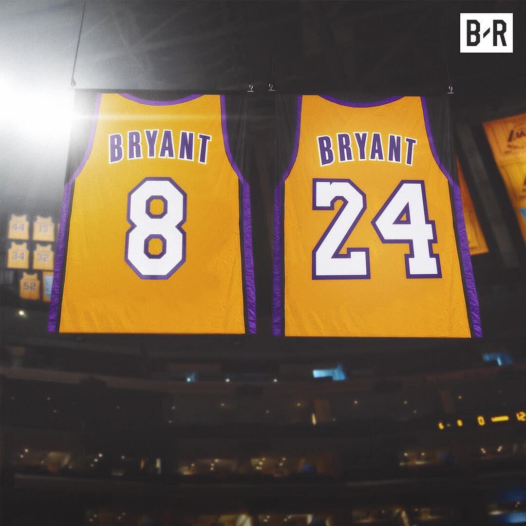 Kobe Bryant Los Angeles Lakers 8 & 24 Hall of Fame shirts | Mamba ...