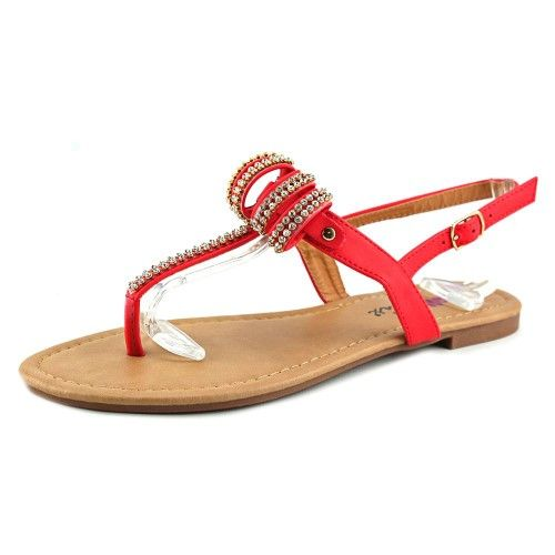 Dollymix Joanna-5 Women US 7.5 Orange Slingback Sandal, Women's, Size: 7.5 Medium