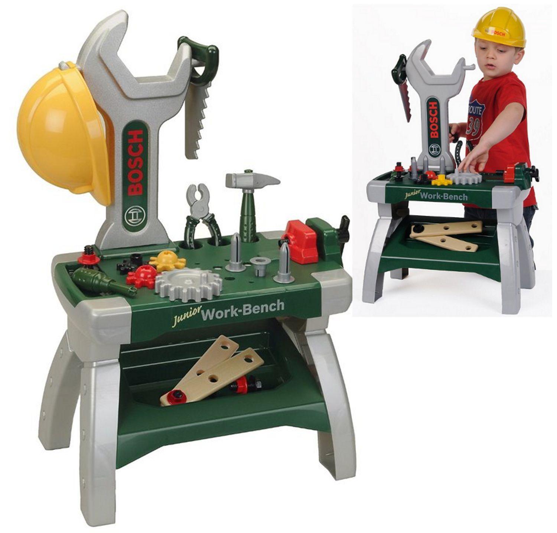 Te Zabawke Mozesz Kupic W Sklepie Www Mojulubionybohater Pl Zabawka Klein Warsztat Bosch Klein Toys Junior Workbench Workbench Bosch Work Tools