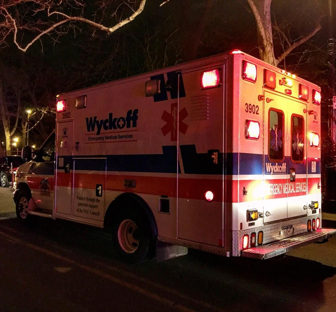 Wyckoff Ems Ambulance On Scene Of A 4th Alarm Fire In