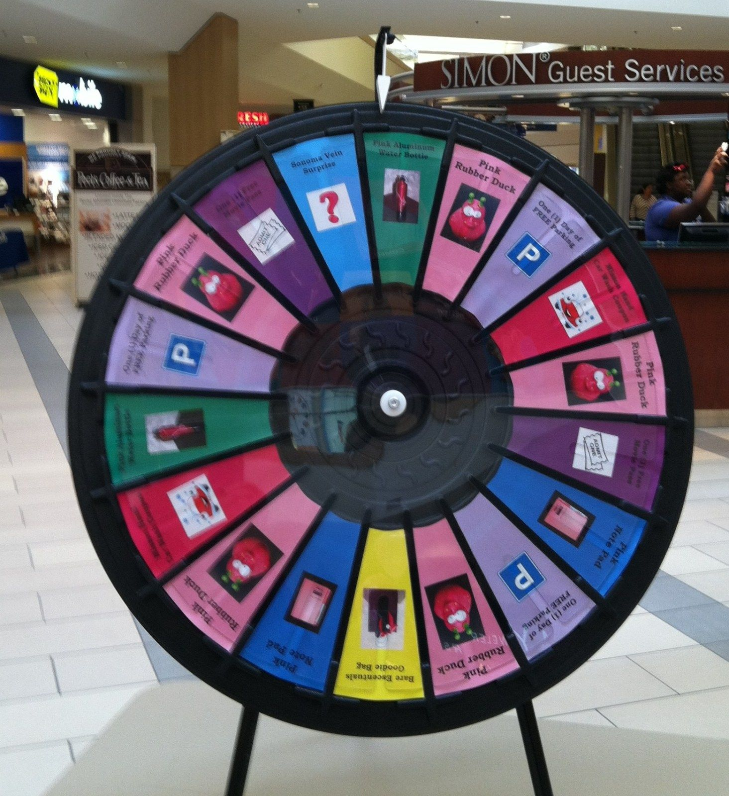 EVENT NEWS Prize wheel, Win prizes
