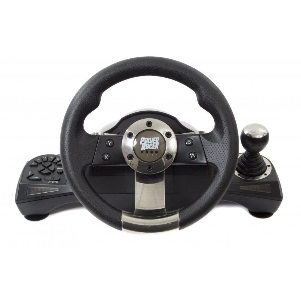 [JOYTRON] Power Racer 270 Wheel PS2/PS3/PC Compatible Video Games Consoles