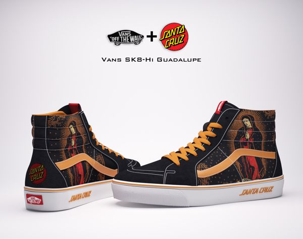 32181bd994 Vans   Santa Cruz Skateboards Collaboration on Behance