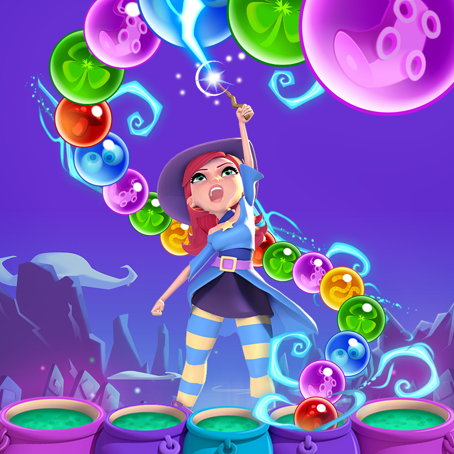 Bubble witch saga | Art :: Characters | Pinterest | Saga, Witches ...