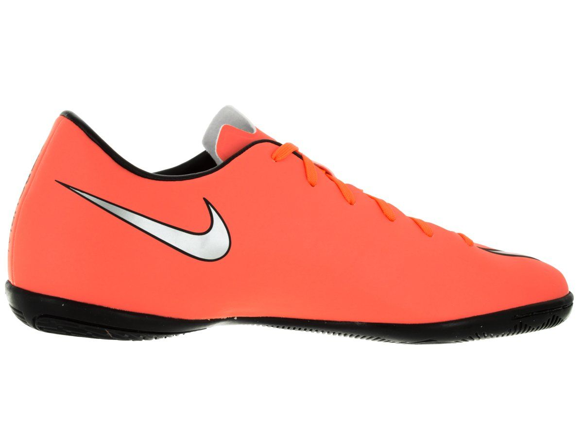 Nike Mens Mercurial Victory V IC Brght Mng/Mtllc Slvr/Hypr Trq Indoor  Soccer Shoe 9.5 Men US >>> Check this awesome product by going to the link  at the ...