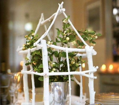 faire soi m me une cabane pour mon bouquet diy nouvel an pinterest faire soi meme cabanes. Black Bedroom Furniture Sets. Home Design Ideas