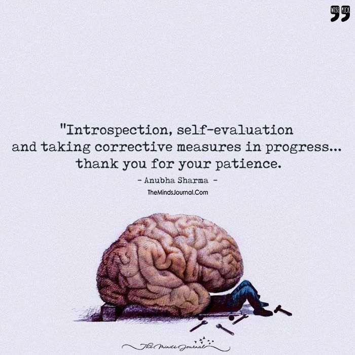 Introspection Self Evaluation And Taking Corrective Measures In