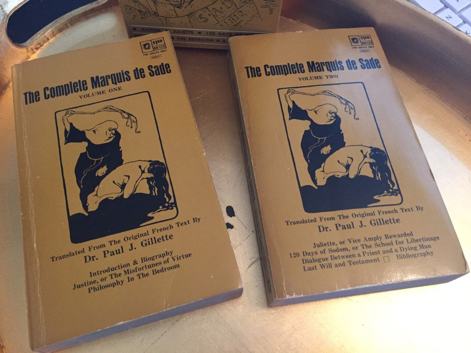 First Printing 1966 The Complete Marquis De Sade Volume 1