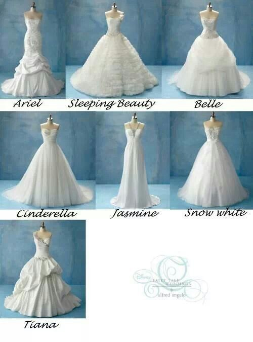 Disney princess wedding dresses | Wedding | Pinterest | Disney ...
