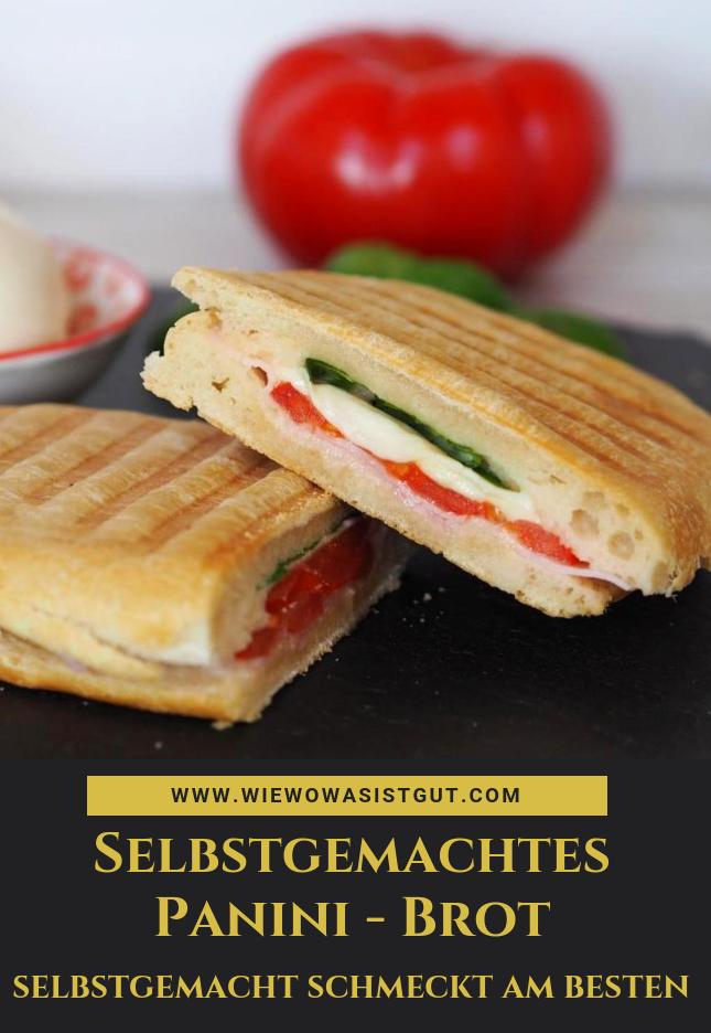 Photo of Selbstgemachtes Panini-Brot & Zubereitung im Kontaktgrill – wiewowasistgut.com