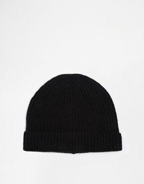 7c547606c20 ASOS Cashmere Beanie Hat