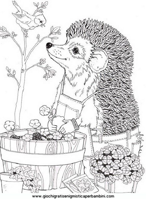 spring_41 Spring coloring pages for adults and teenagers | Coloring ...