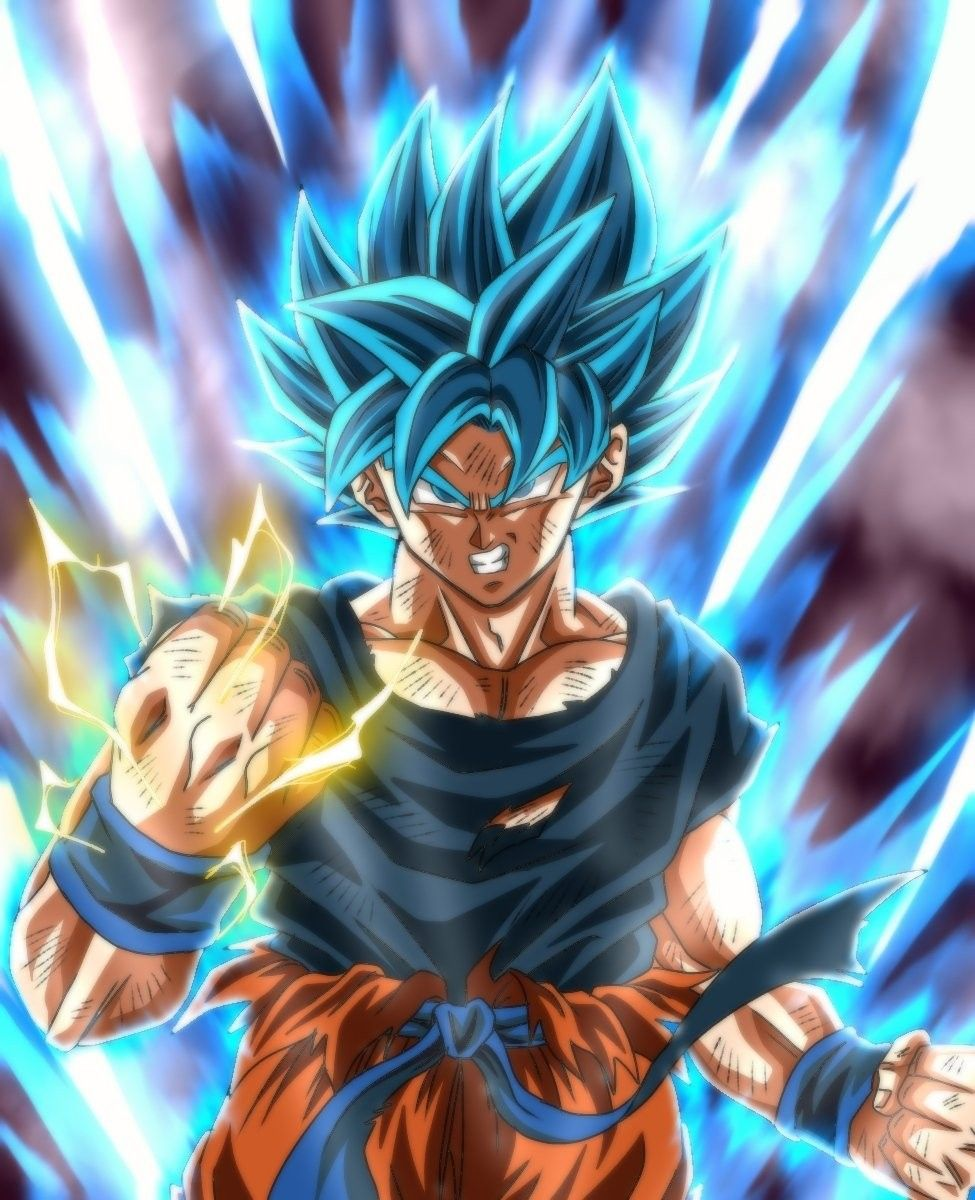Goku Ssj Blue Dragon Ball Super Manga Anime Dragon Ball Super Dragon Ball Artwork