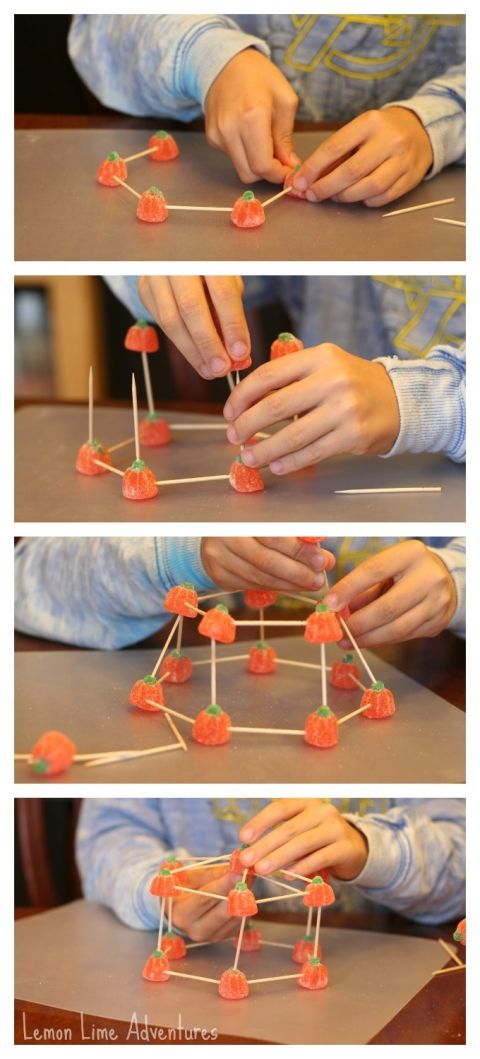 Building Structures with Candy Pumpkins | School - STEM ...
