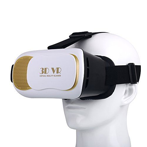 fac40d5ae20d 3D VR Headset Pandawell Virtual Reality Headset 3D Glasses with Adjustable  FocalPupil Distance VR BOX for 4560 Smartphones iPhone 6S 6S Plus S7 S7  Edge LG ...