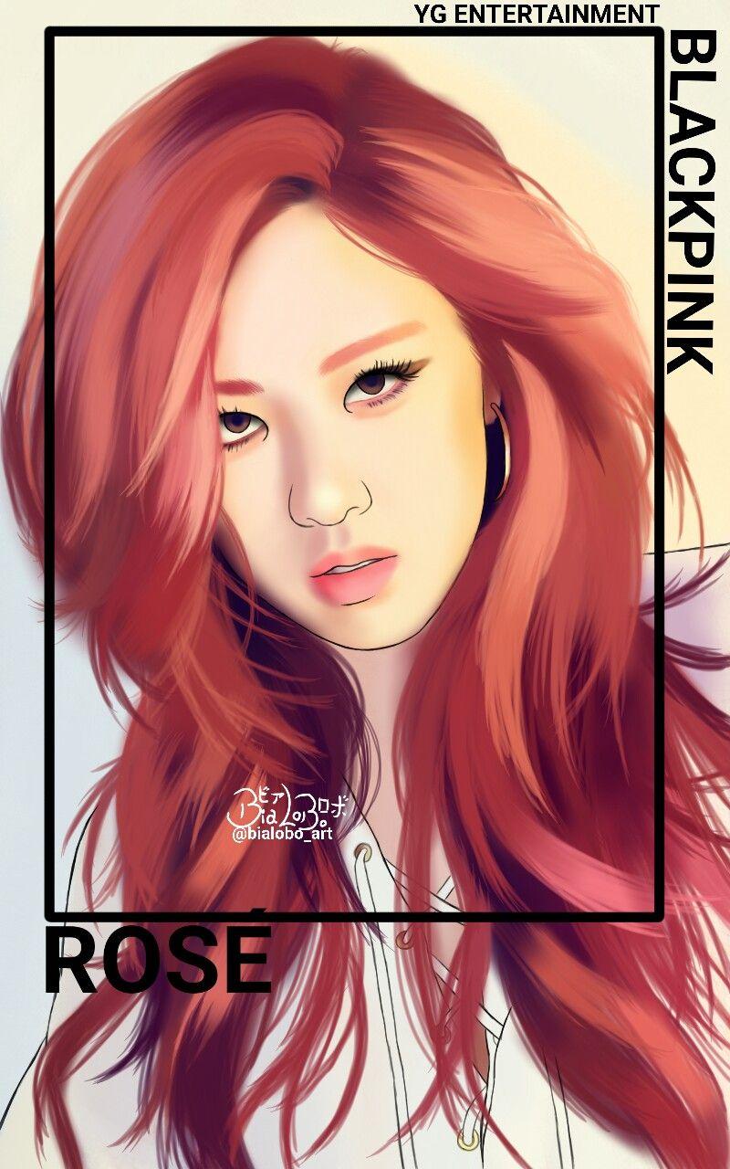 BLACKPINK fanarts byBiaLobo black pink Pinterest