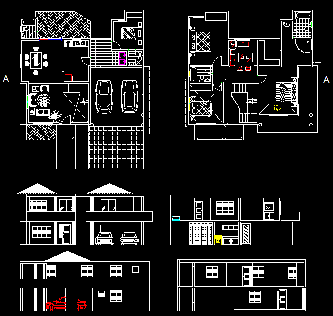Dual Story 4 Bedroom Two Bathroom House Plans How To Plan House Plans Town House Plans