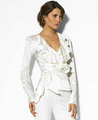 Unique 30 Beautiful Ralph Lauren Women Blouses | Sobatapk.com