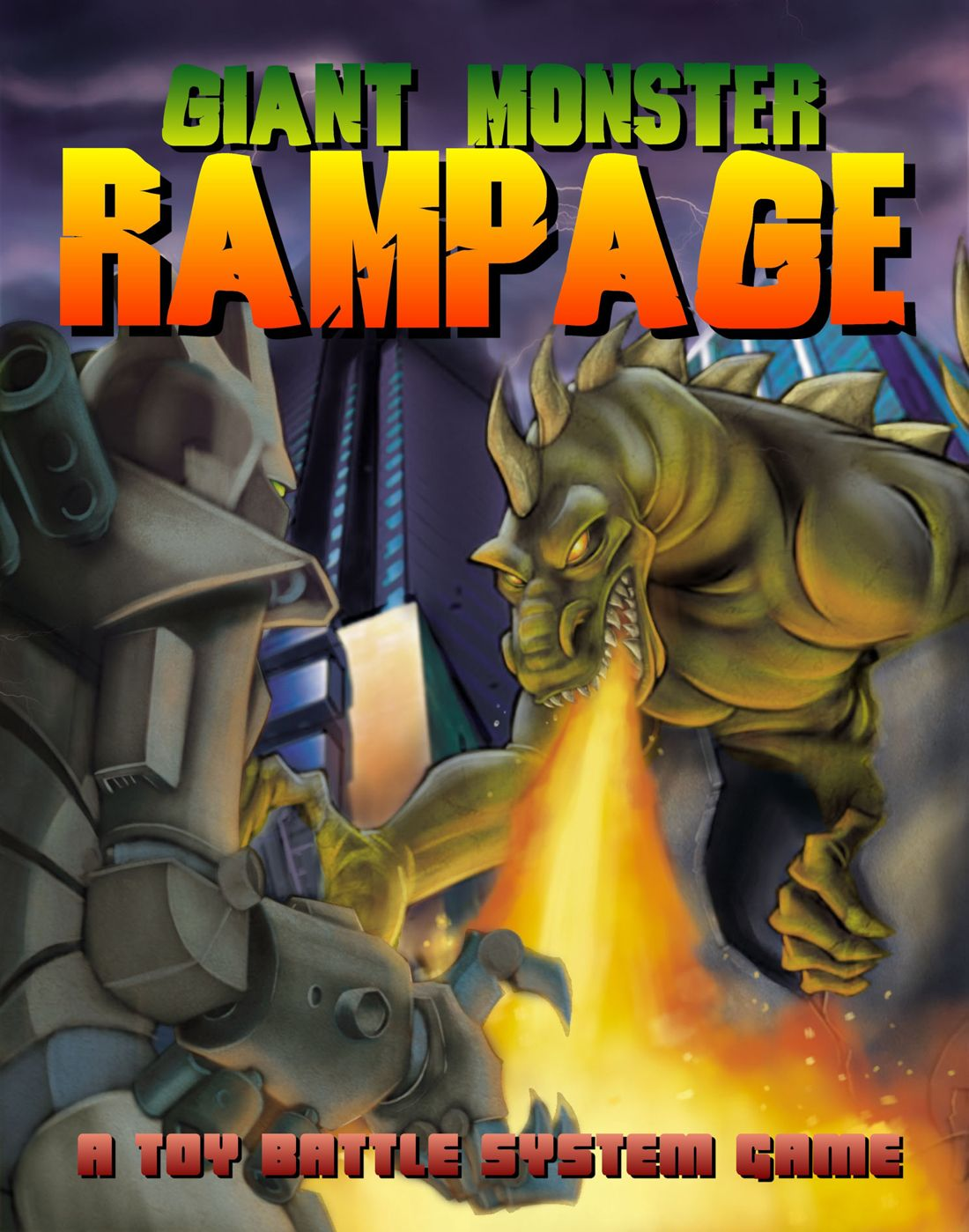 Giant Monster Rampage Game Monster Rampage Giant Monsters