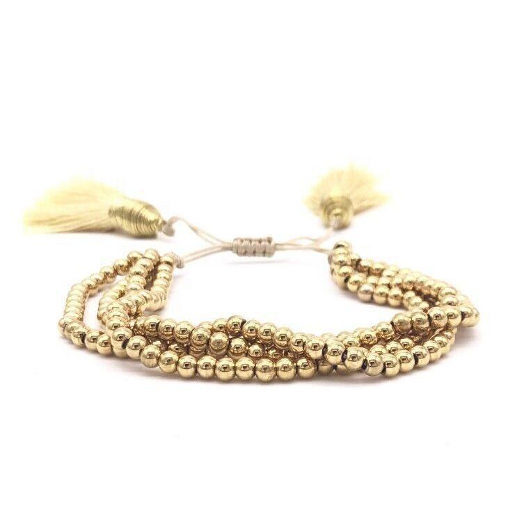 Photo of Gold Bracelet with pellets