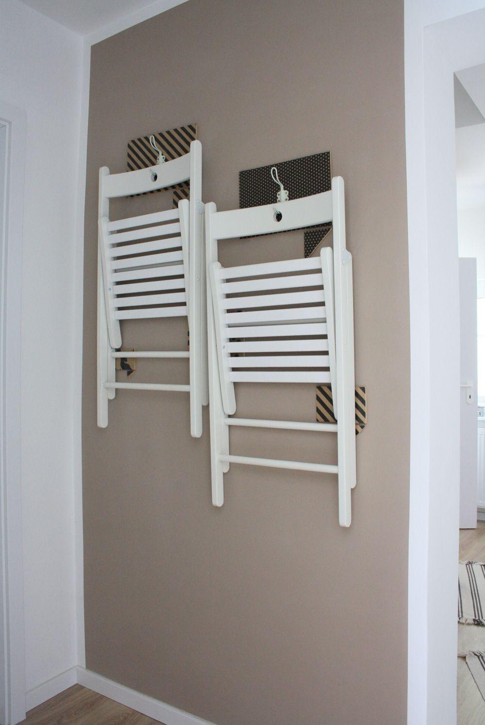 Ikea Klappstuhl Wand.Stühle Aufhängen Terje Klappstühle Hübsch Aufhängen