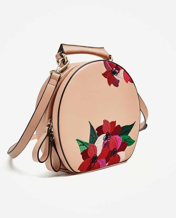 d4b3f807d0 Image 3 of EMBROIDERED OVAL CITY BAG from Zara
