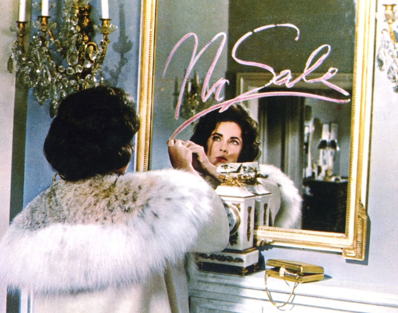 Image result for elizabeth taylor butterfield 8 mirror