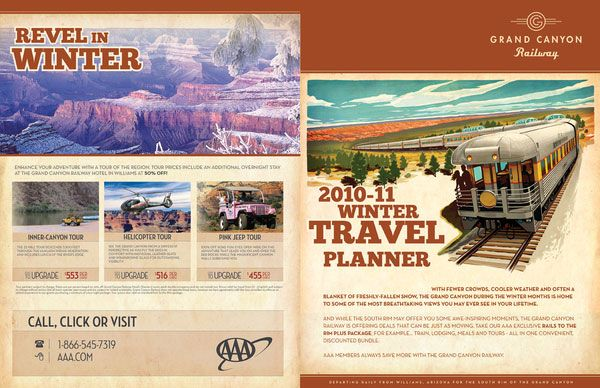 BiFold Winter Travel Brochure  Travel Brochures