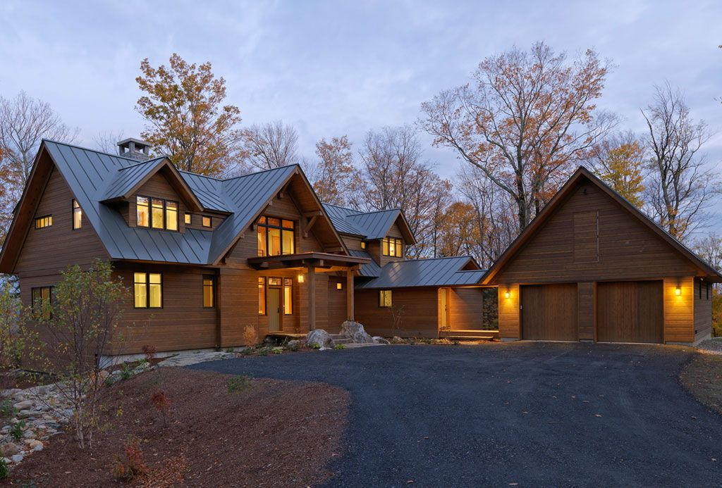 Timber Frame Homes by Mad River Post & Beam, Waitsfield, Vermont ...