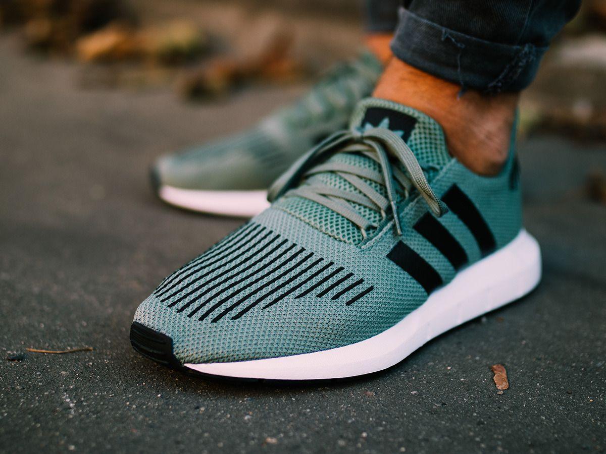 swift run adidas shoes sneakers mens