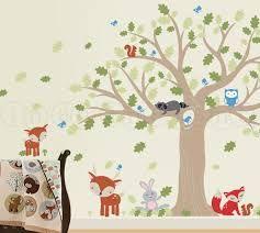 oak tree wall decal - Google Search