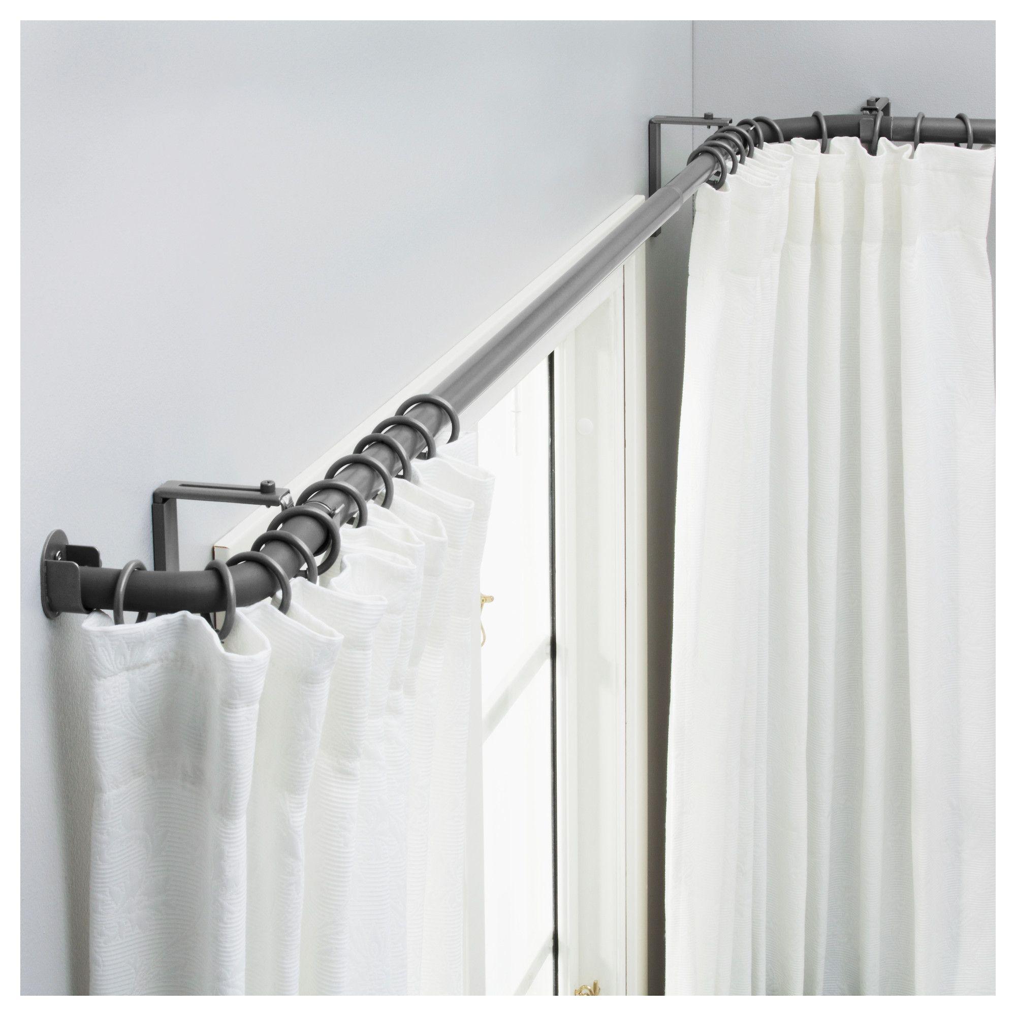 Ikea Us Furniture And Home Furnishings Corner Window Curtains