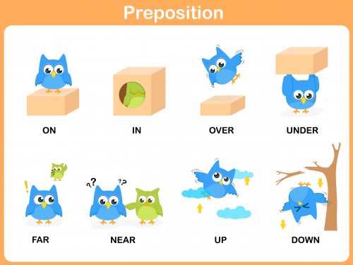 Help Your Child Understand Prepositions With This Easy To Printable The Features Eight On In Over Under Far Near