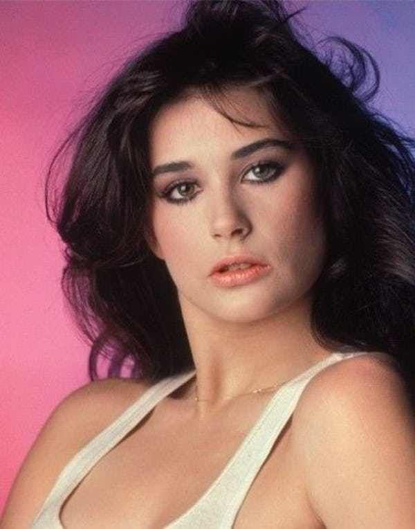 Pictures Of Young Demi Moore Show The American Actress