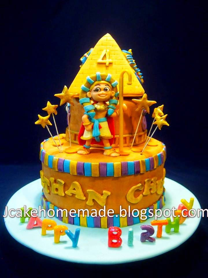 Egyptian Themed Birthday Cake Birthday Themes Pinterest